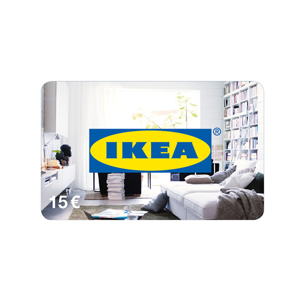 ikea gutschein 15 euro allegra shop. Black Bedroom Furniture Sets. Home Design Ideas